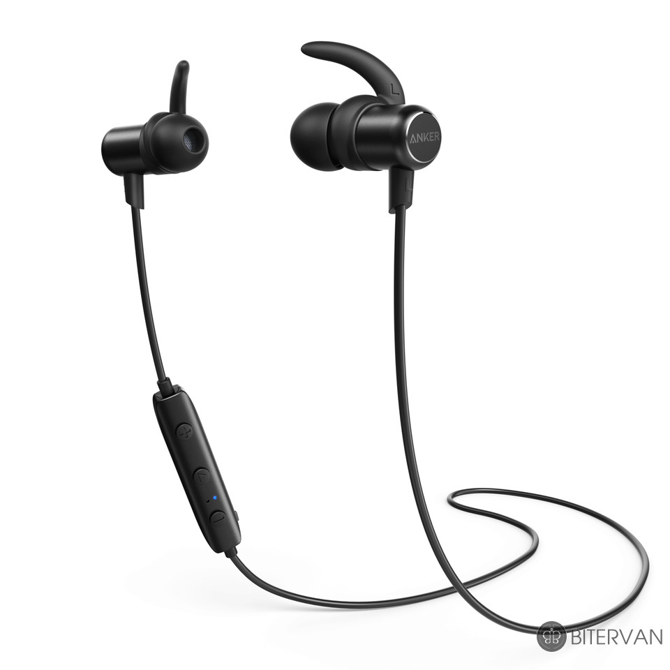 Anker - SoundBuds Slim Bluetooth Headphone