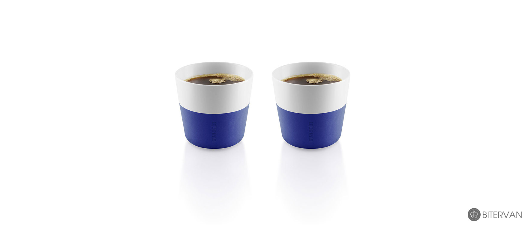 eva solo, lungo tumbler, 2 pcs, electric blue, 230 ml