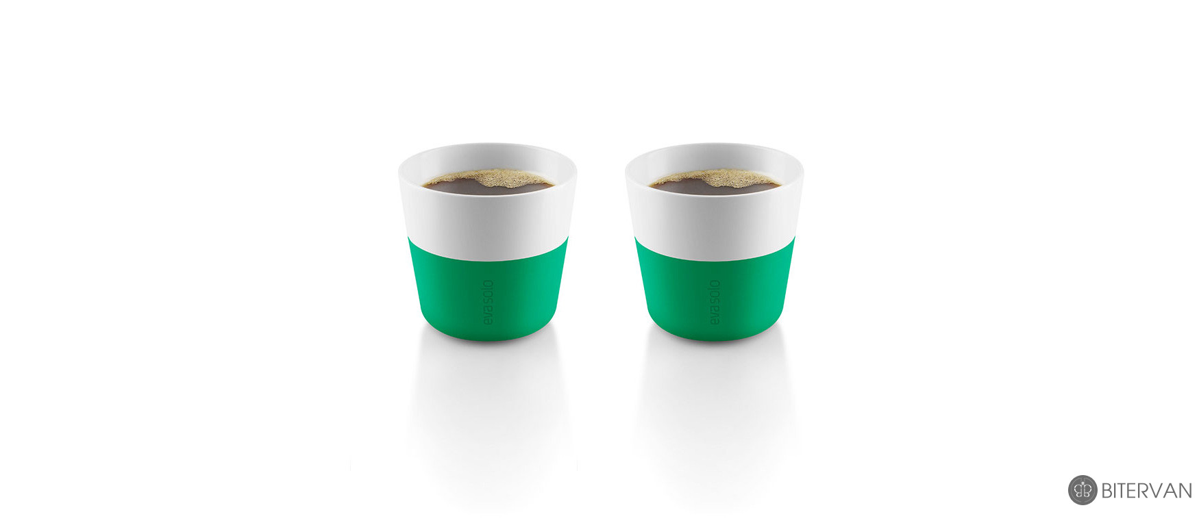 eva solo, lungo tumbler, 2 pcs, jolly green, 230 ml