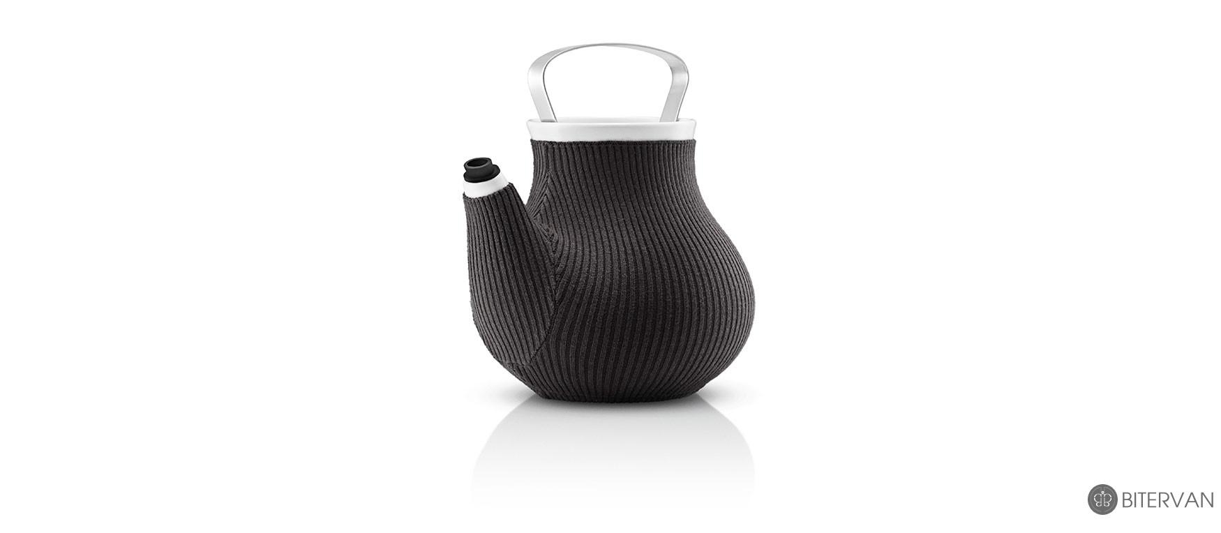 eva solo, my big tea teapot, elephant grey, 1.5 l