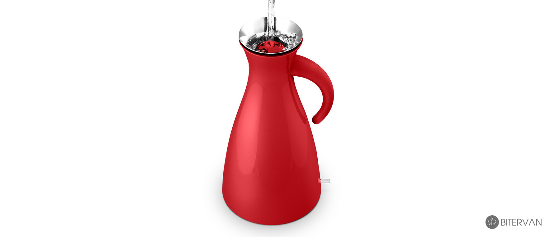 eva solo, Electric kettle, red,1.5 l