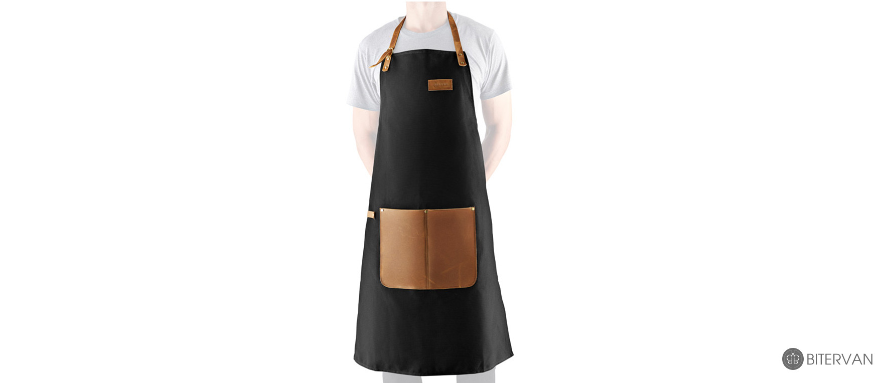 evasolo CANVAS AND LEATHER APRON