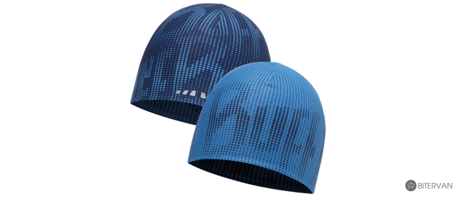 COOLMAX REVERSIBLE HAT BUFF® R-DEEP LOGO DARK NAVY-BLUE