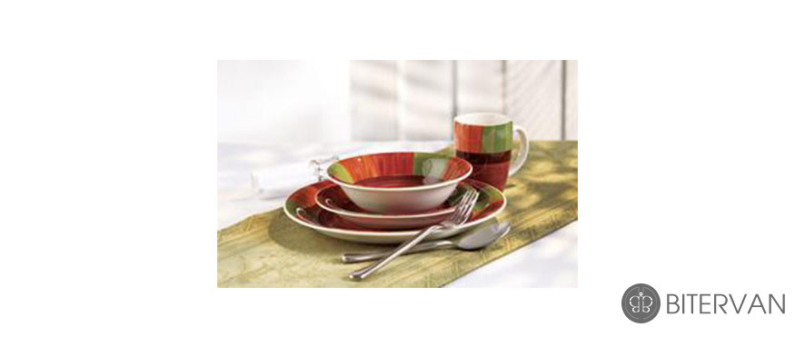 Thinkkitchen Family- STOKES SENEGAL 16PC DINNERWARE SET