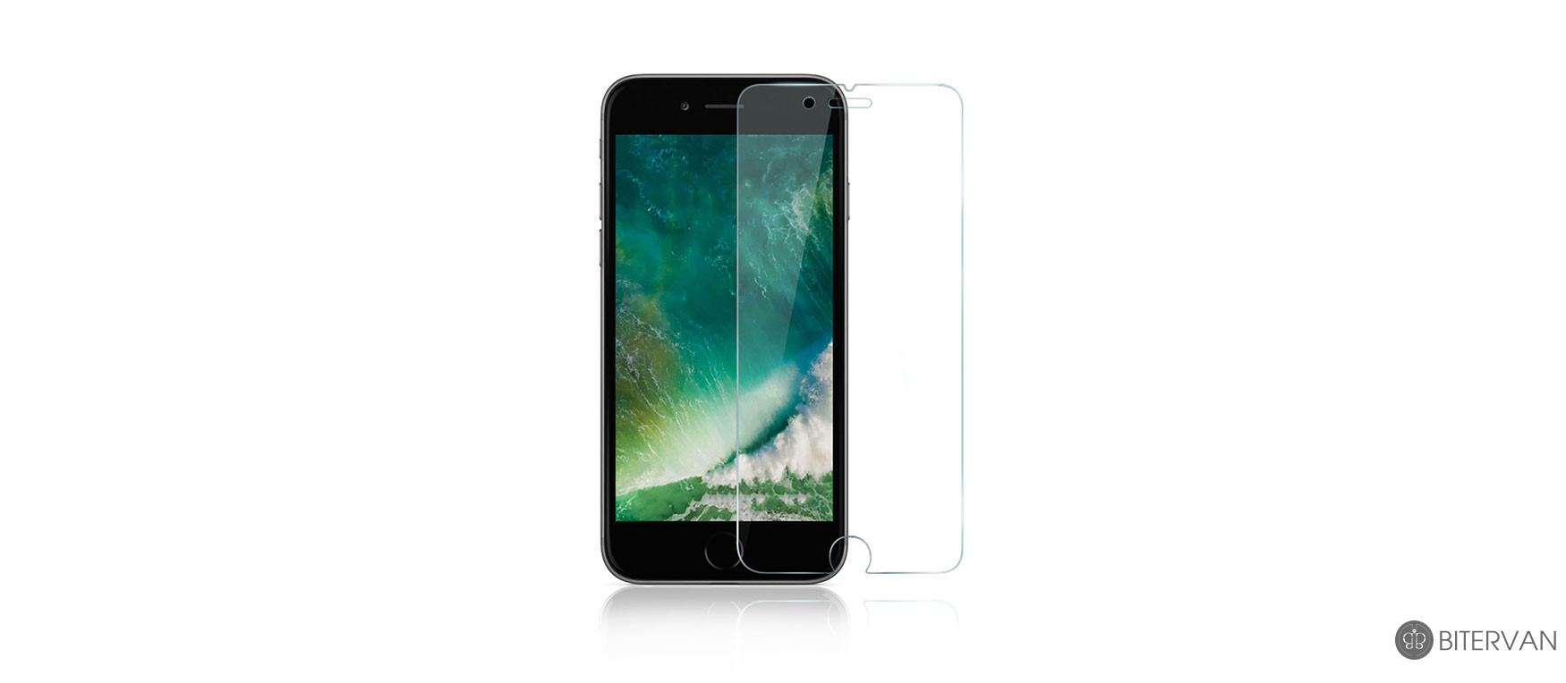 Anker A7472 Tempered glass screen protector for iphone 7 plus - Clear