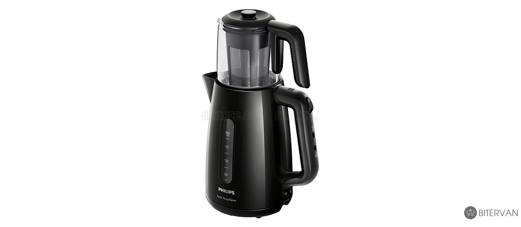 PHILIPS Tea Maker Set HD7301