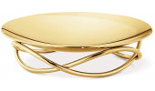 GEORG JENSEN GLOW MEDIUM DISH , GOLD