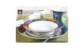 Thinkkitchen Family- STOKES WISTERIA 16PC PORC.DINNERWARE