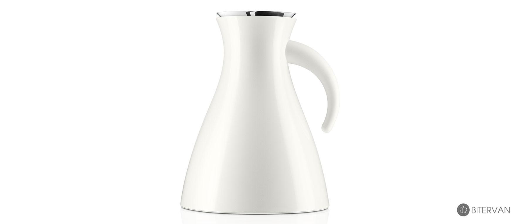 eva solo, Vacuum jug, low white,1.0 l