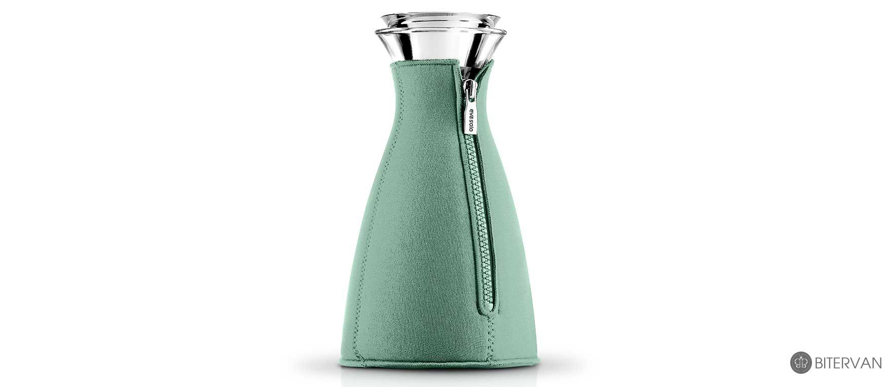 eva solo cafe solo coffee maker neoprene cover granite green 1.0 l